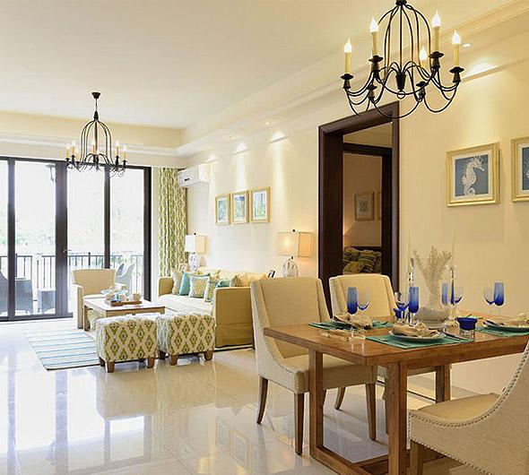 多彩客厅-中式风格