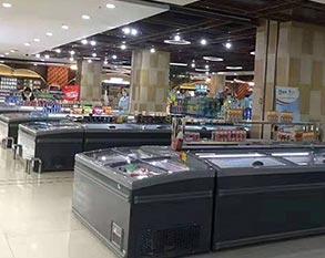 超市冷藏冷冻组合岛柜