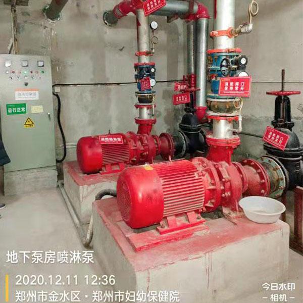 地下泵房喷淋泵